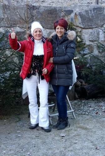 Cilli mit Carmen (Schwaigerhof)