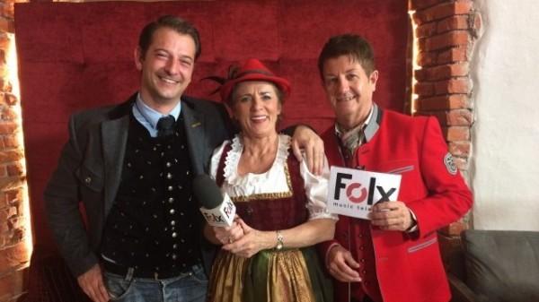 Folx TV Live Sendung Sepp let's go im Hotel Klosterbräu / Alois Seyrling, Cilli und Sepp Mattlschweiger