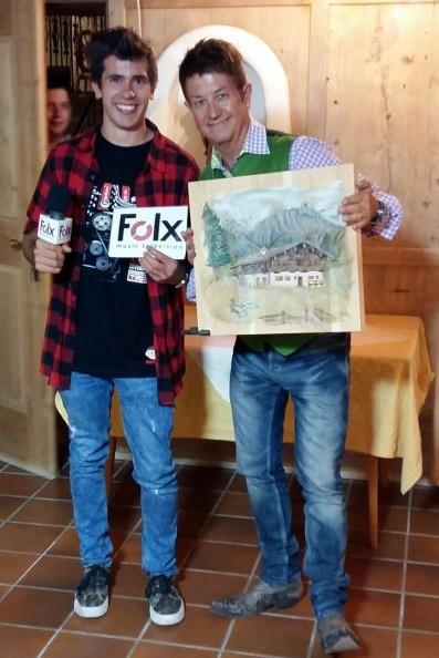 Manuel Egger-Budemair und Sepp Mattlschweiger