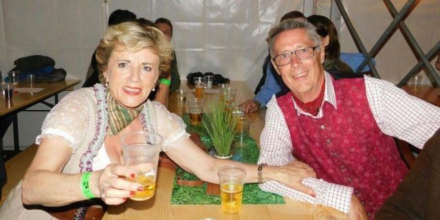 Kirchtag im Mai 2017 beim Schwoaga, Cilli & Eric