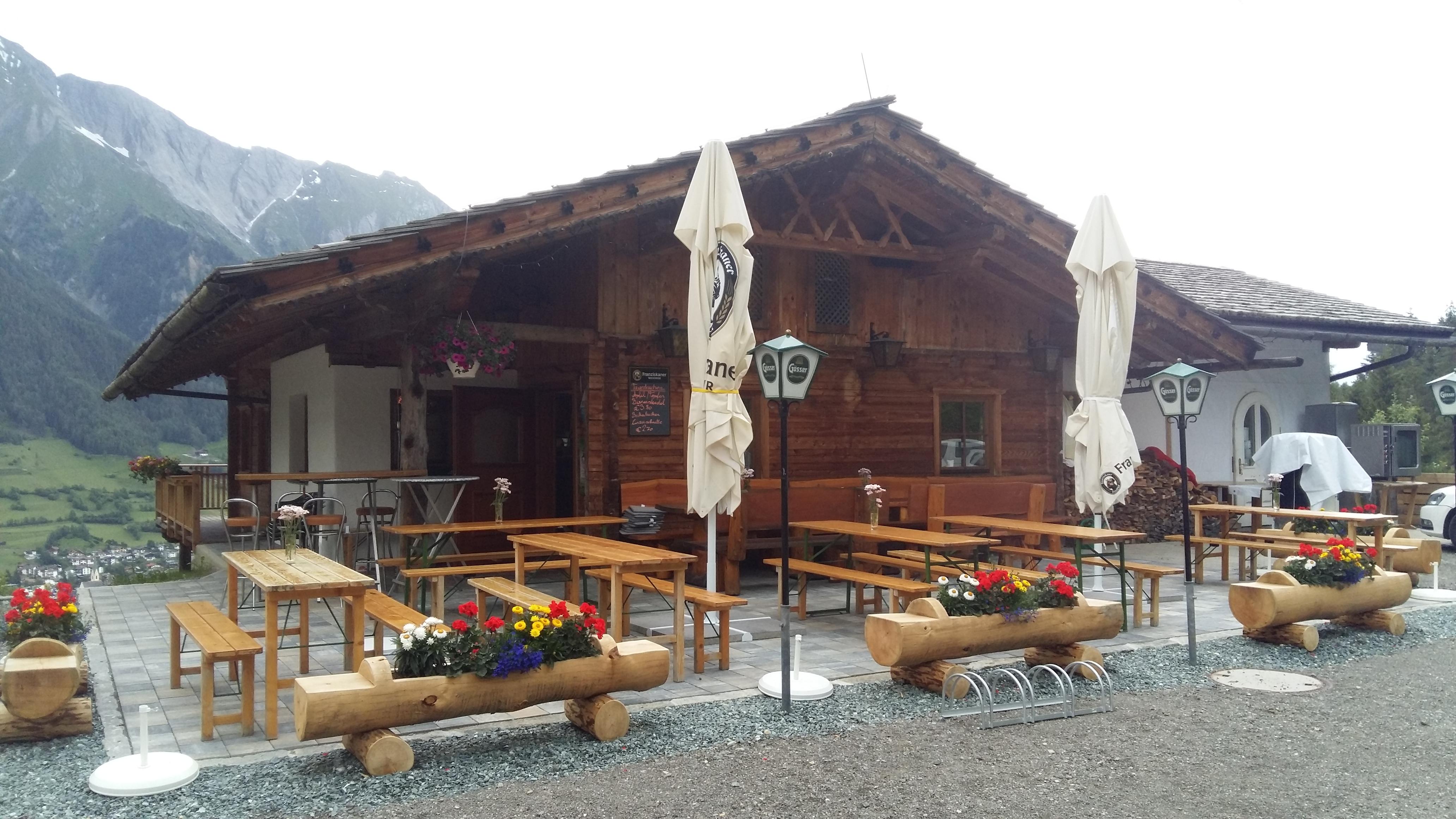Würfele Hütte